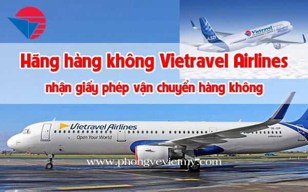 Vietravel Airlines plane