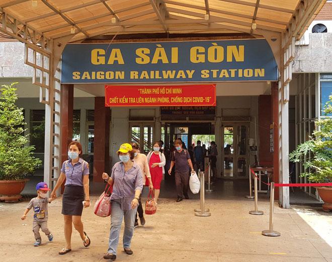 ga tàu Sài Gòn