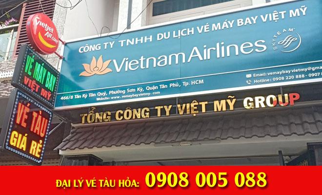 đại lý vé tàu hỏa 466/8 Tân Kỳ Tân Quý, Quận Tân Phú
